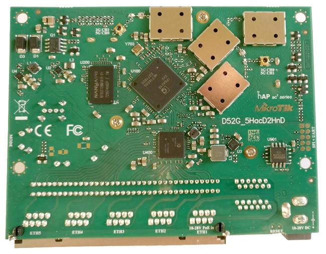 Разбор устройсва mikrotik hap ac2