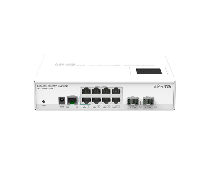 MikroTik CRS210-8G-2S+IN