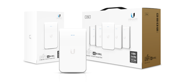 UniFi AP aс In-Wall — долгожданный Update