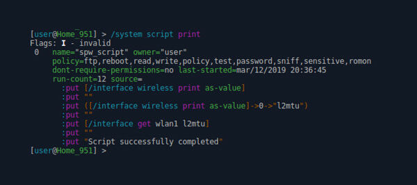 Скрипты MikroTik (RouterOS scripting) | Автоматизация при